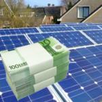 stroom goedkoop door zonnepanelen